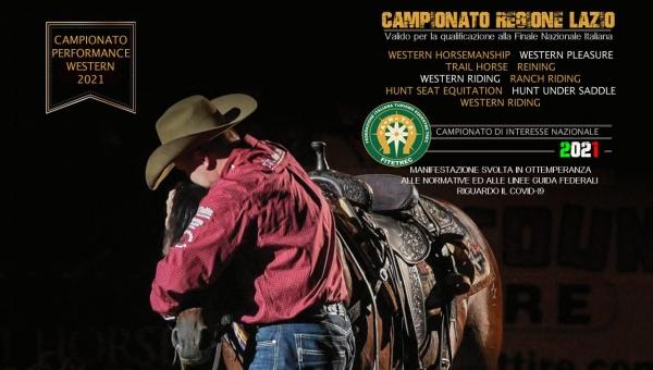 Campionato Performance Western 2021