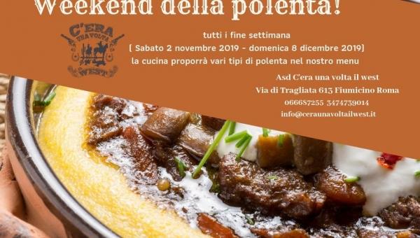 Weekend della Polenta!