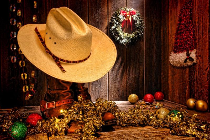 C'era una volta... il Pranzo di Natale nel West